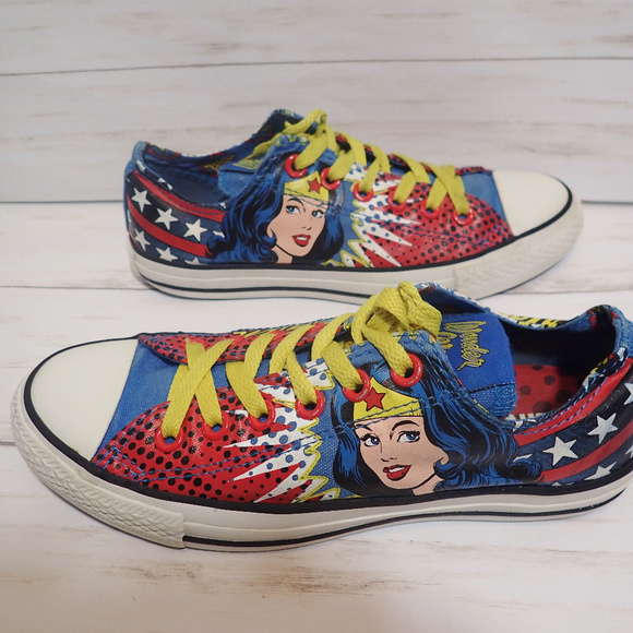 128f9018e1160a Converse Shoes - Limited Edition Converse DC Wonder Woman Sneakers